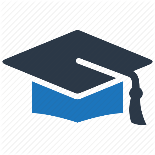 Cap, Graduation, Hat Icon