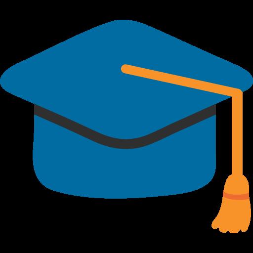 Graduation Cap Emoji For Facebook, Email Sms Id Emoji