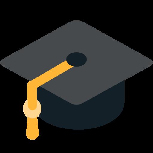 Graduation Emoji Transparent Png Clipart Free Download