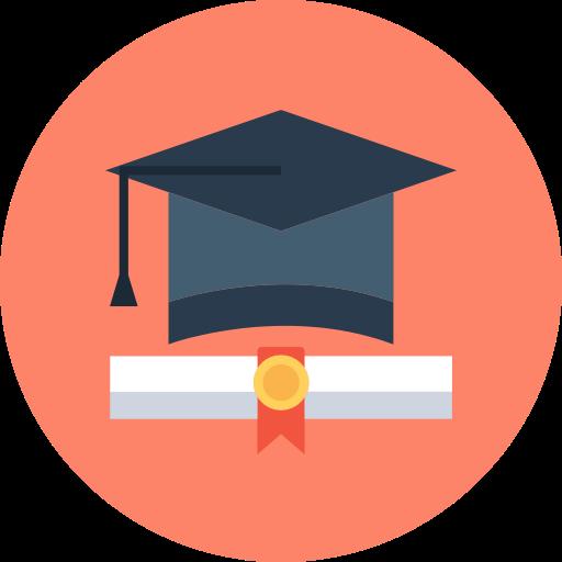 Graduation Mortarboard Png Icon