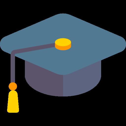 Education, Mortarboard, Graduate, Cap Icon