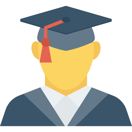 Graduate Icon Education Dinosoftlabs