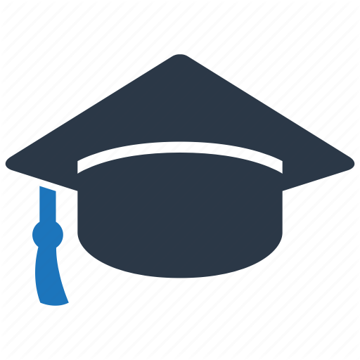Cap, Graduate, Graduation Icon