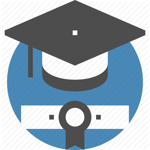 Degree, Diploma, Education, Graduation, Hat, Knowledge, Student Icon