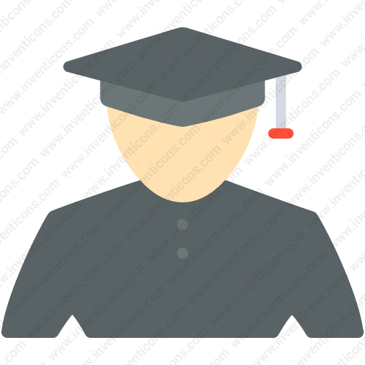 Download Student,student,avatar,university,graduated Icon