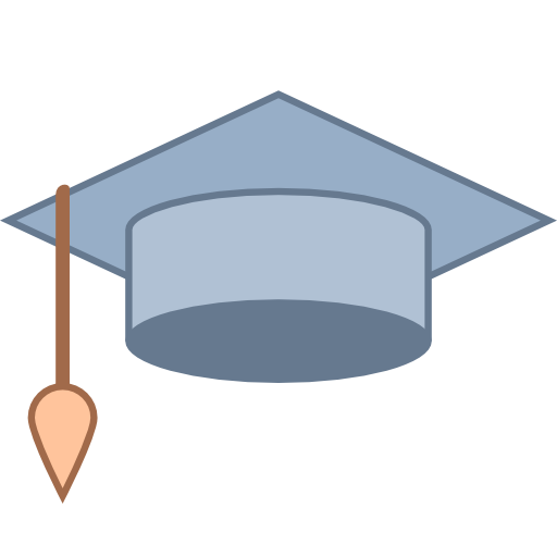 Graduation Cap Variant Free Education Icons