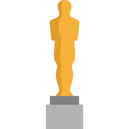 Oscars, Cinema, Award, Trophy, Academy, Awards Icon