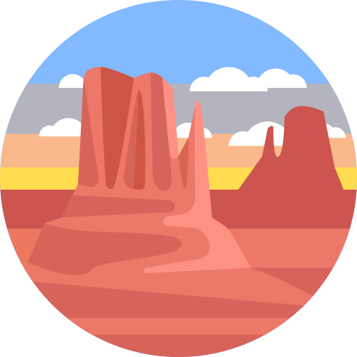 Canyon Nature Png Icon
