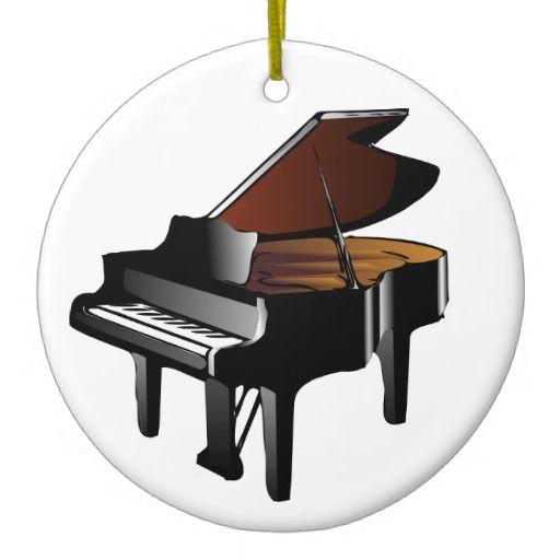 Baby Grand Piano Ornament Stuff Sold On Zazzle Piano, Music