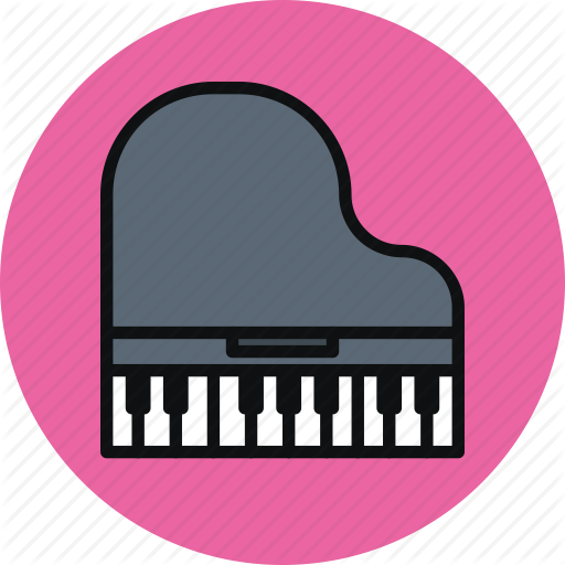 Classic, Grand, Instrument, Music, Musical, Piano Icon