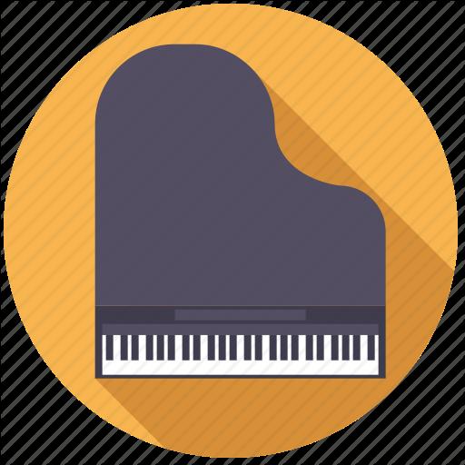 Grand, Instrument, Keyboard, Music, Piano, Sound Icon