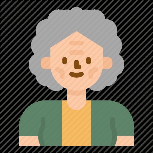Adviser, Avatar, Grandmother, Old, Profile, Woman Icon