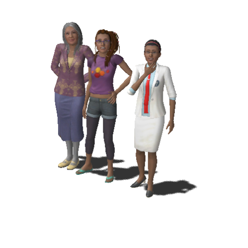 Grandma And Granddaughters Household The Sims Wiki Fandom