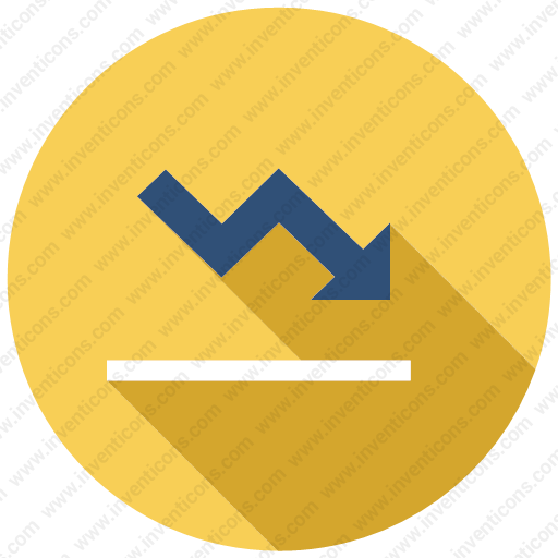 Download Analytics,chart,graph,report,down Icon Inventicons