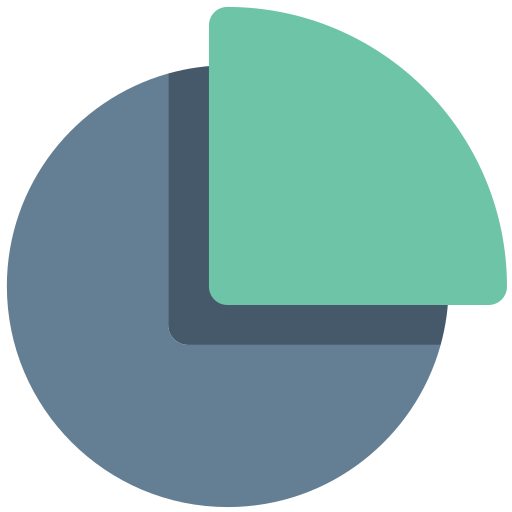 Graph, Office, Overview, Part, Pie, Chart, Portion Icon Free Of Office