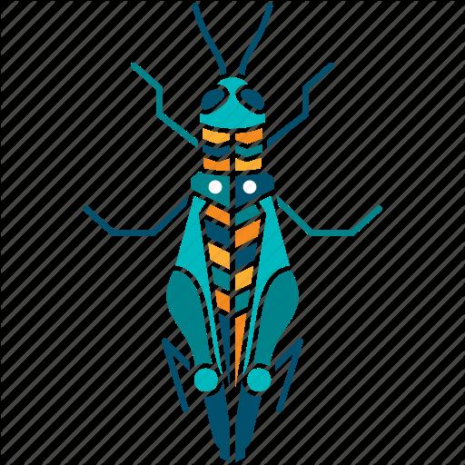 Chirr, Cicada, Grasshopper, Insect, Locust, Nature, Wise Icon