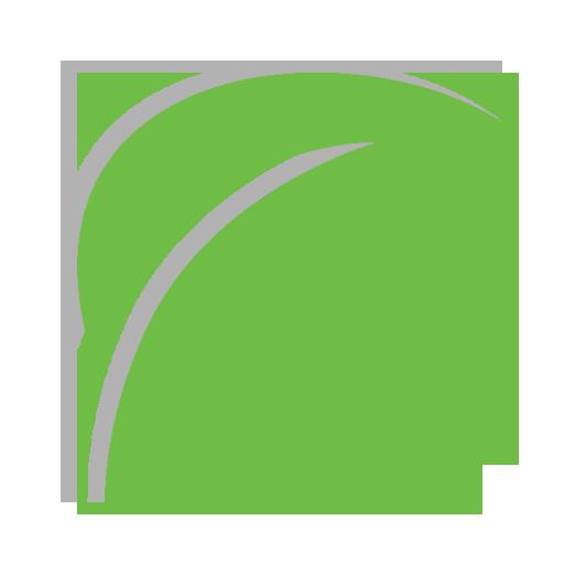 Leaf Icon Happy Grasshopper
