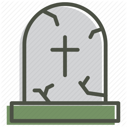 Cross, Death, Funeral, Grave, Gravestone, Graveyard Icon