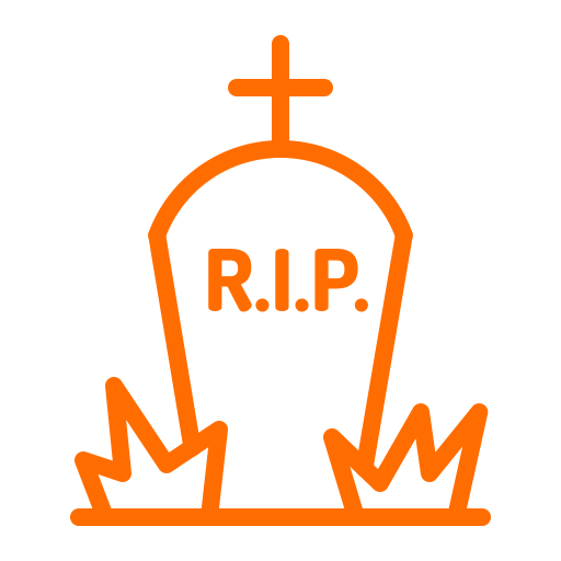 Halloween, Graveyard, Death, Cemetery, Gravestone, Rip Icon Free