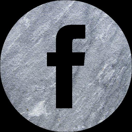 Gray Sandstone Facebook Icon
