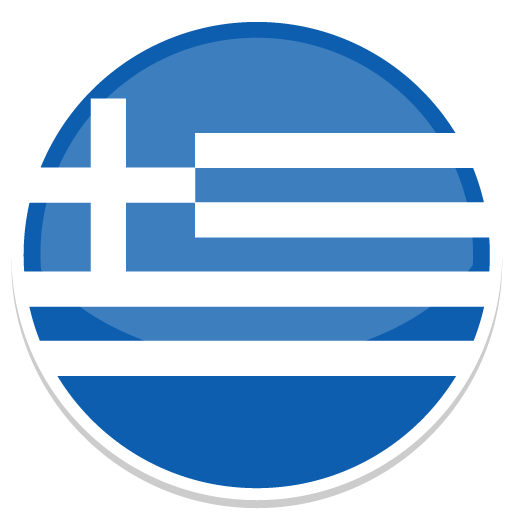 Greece Icon Round World Flags Iconset Custom Icon Design