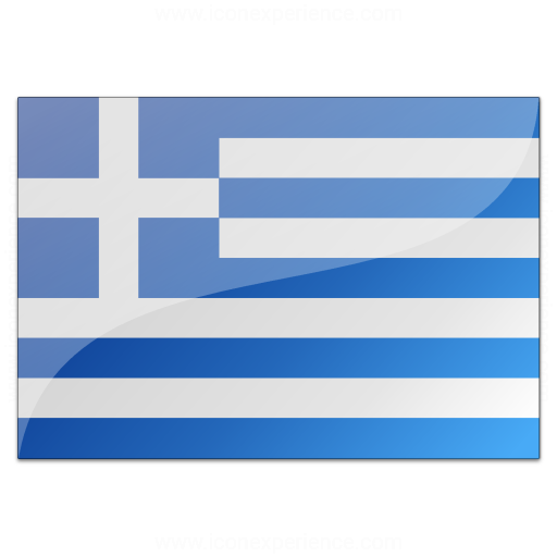 Iconexperience V Collection Flag Greece Icon
