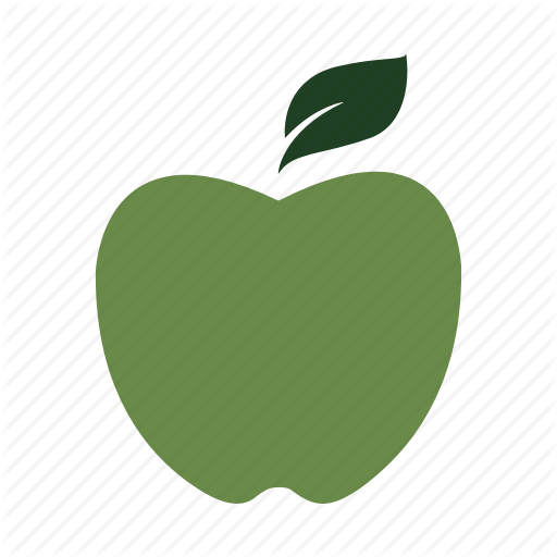 Apple, Class, Delicious, Fruit, Green, Nature, Teacher Icon