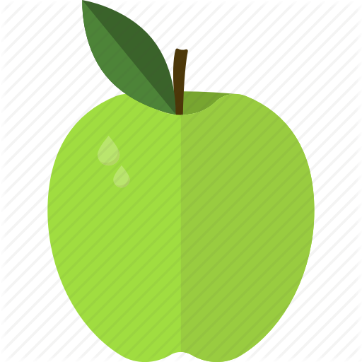 Apple, Food, Fruits, Green Icon