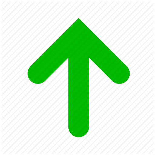 Arrow, Arrows, Direction, Green, Up Icon