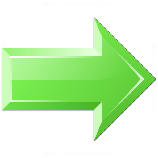 Iconexperience V Collection Arrow Right Green Icon
