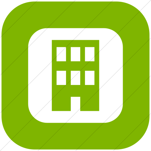 Flat Rounded Square White On Green Ocha Humanitarians
