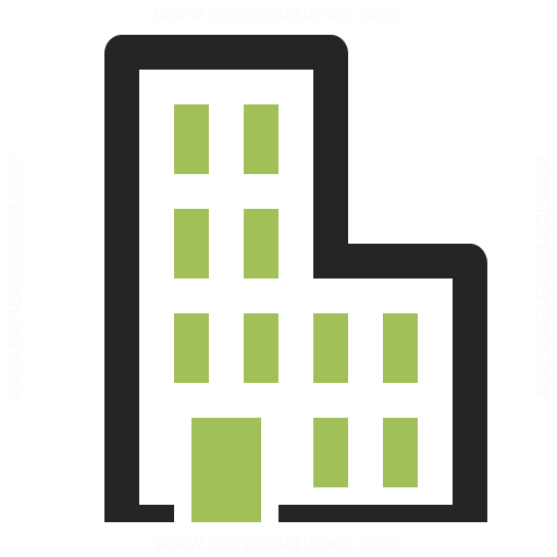 Office Building Icon Iconexperience
