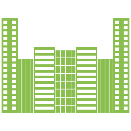Office, Building, City, Hotel Icon