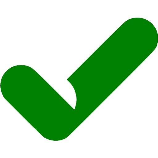 Green Check Icon Transparent Png Clipart Free Download