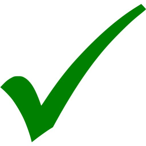 Pictures Of Green Check Mark Icon
