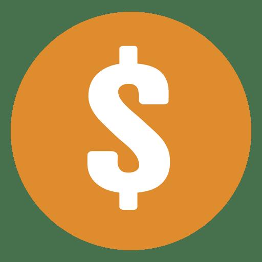Dollar Sign Yellow Circle
