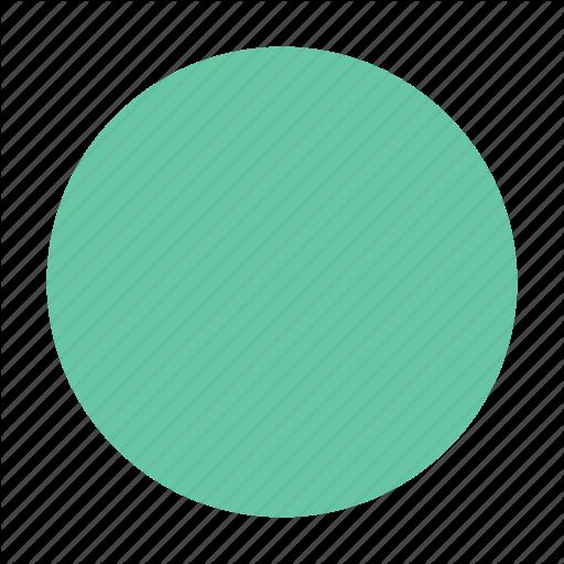 Circle, Green, Round Icon