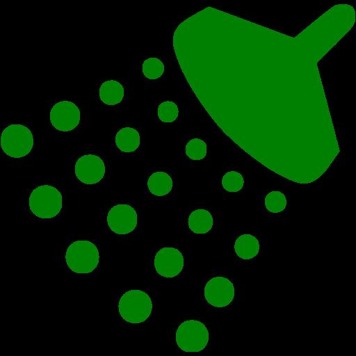 Green Shower Icon