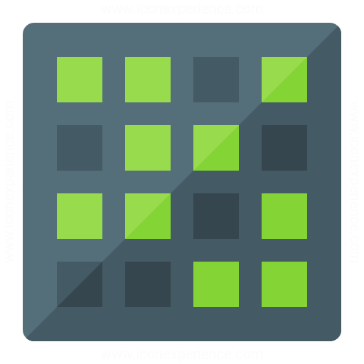 Iconexperience G Collection Dot Matrix Icon