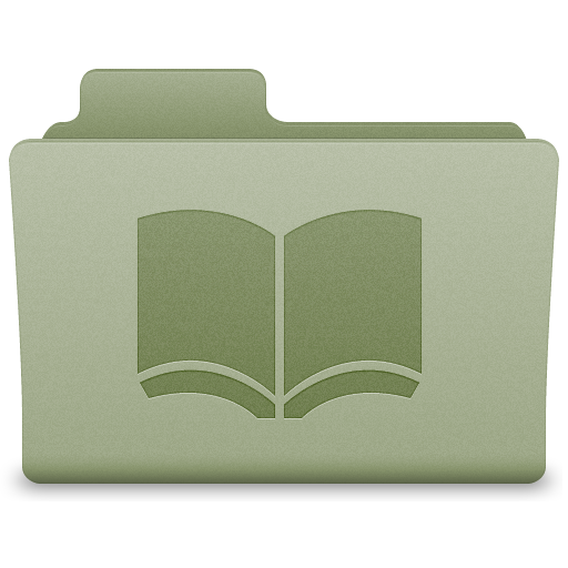 Green Library Folder Icon