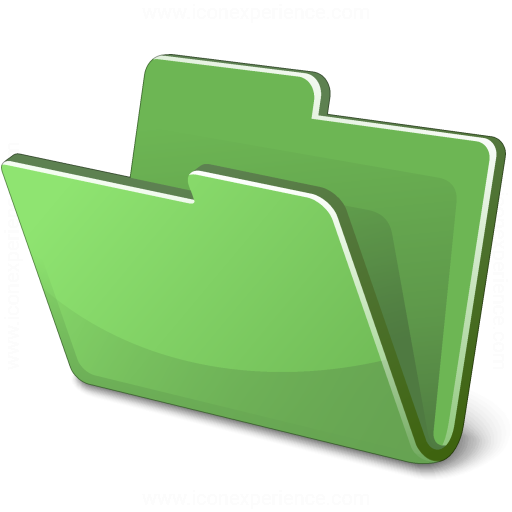 Iconexperience V Collection Folder Green Icon