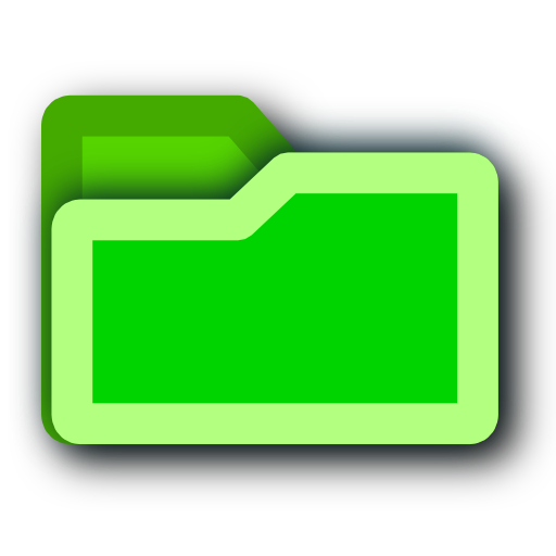 Folder, Green Icon Free Icons Uihere