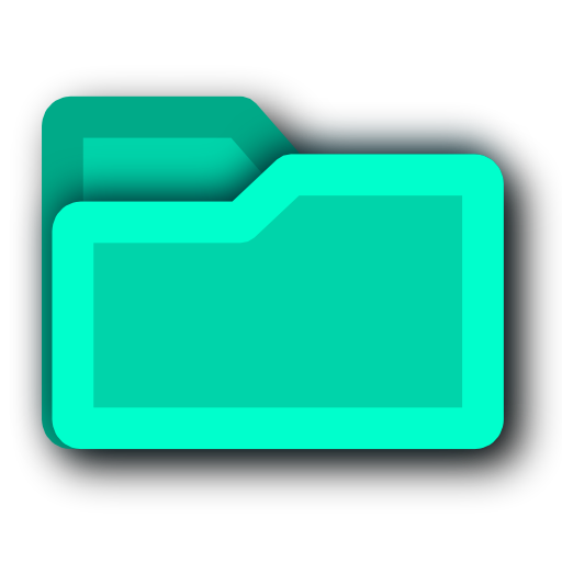 Green, Blue, Energy, Light, Folder, Tip, Hint Icon