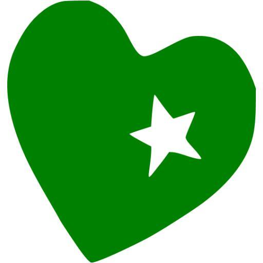 Green Heart Icon