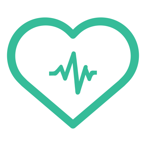 Heart Health Index, Heart Health, Heart Monitor Report Icon