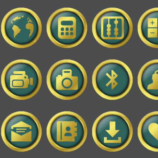 New Gold Icon Pack
