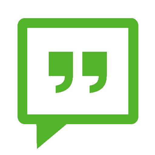 Communication Messenger Green Icon