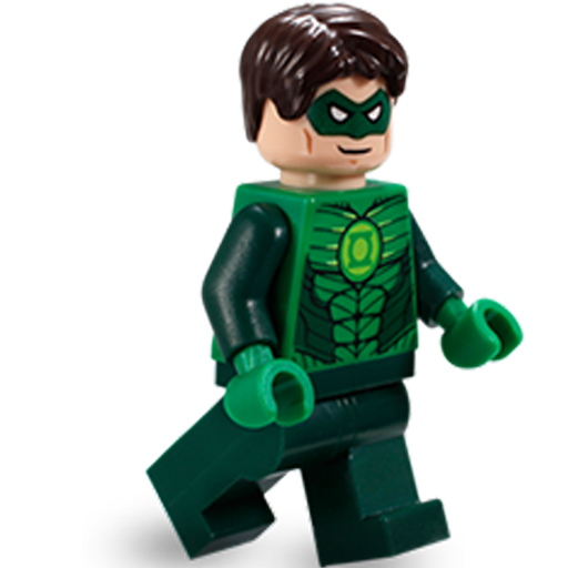 Green, Lantern, Lego Icon