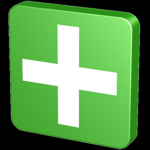 Green Plus Icon