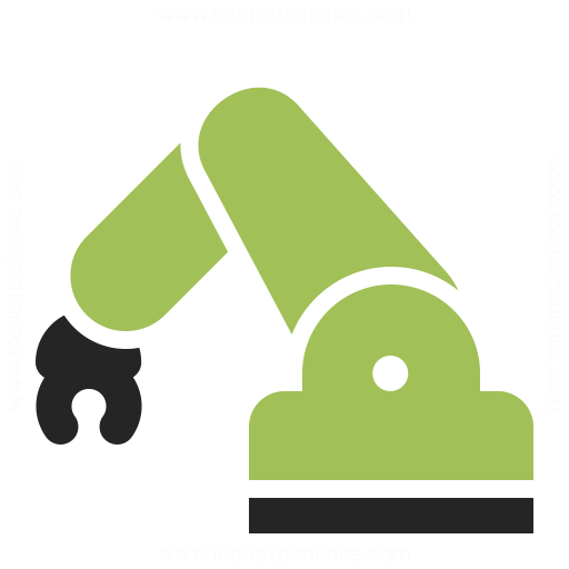 Industrial Robot Icon Iconexperience